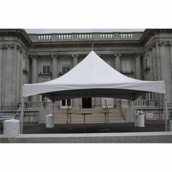 20x20 High Peak Frame Tent Rental
