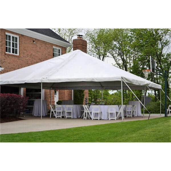 30x30 frame tent rental