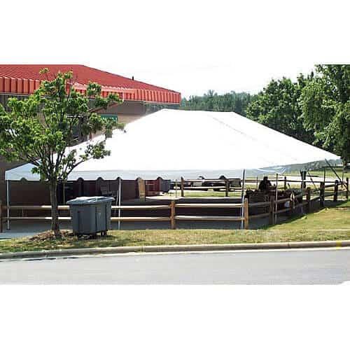 30x40 frame tent rental