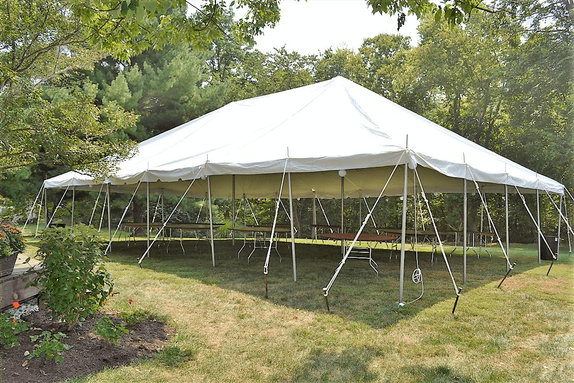 30x45 Pole Tent Rental Academy Rental Group Cincinnati