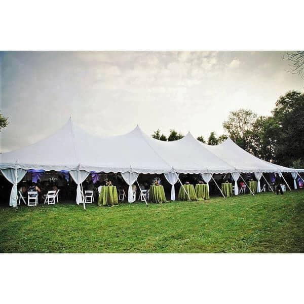 40x100 High Peak Pole Tent Rental Cincinnati Event Rentals