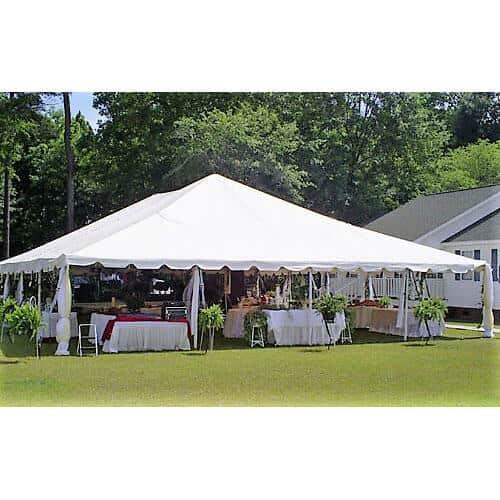 40x40 Frame Tent Rental