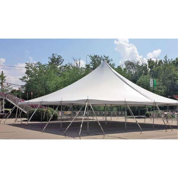 40x40 Pole Tent Rental Academy Rental Group Cincinnati