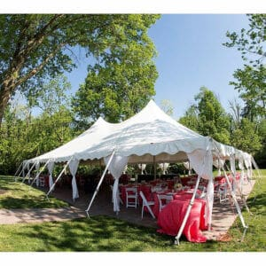 40x60 High Peak Pole Tent Rental