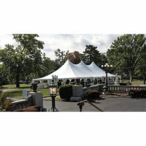40x80 High Peak Pole Tent Rental