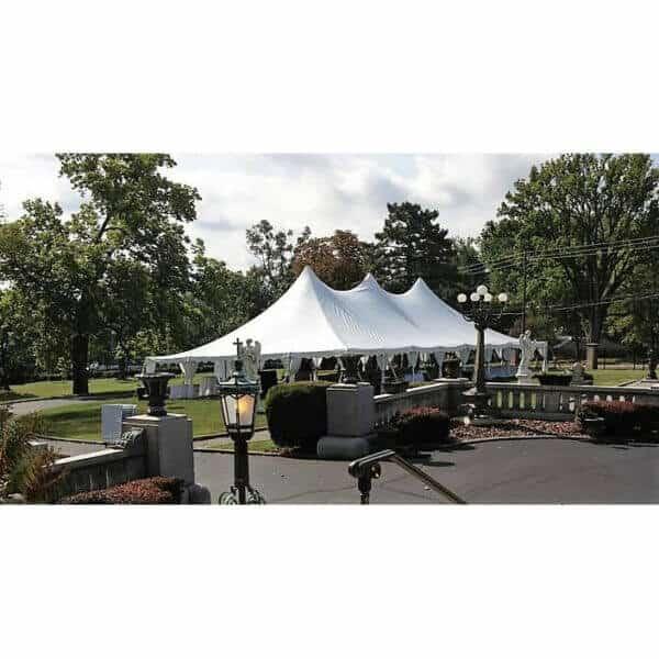40x80 High Peak Pole Tent Rental