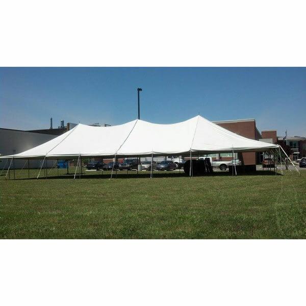 40x80 Pole Tent Rental