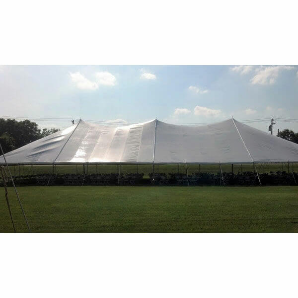 60x100 Pole Tent Rental