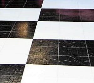 Black and White Dance Floor Rental Cincinnati