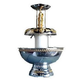 Deluxe champagne fountain rental