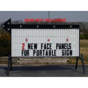 Lighted Display Sign Rental