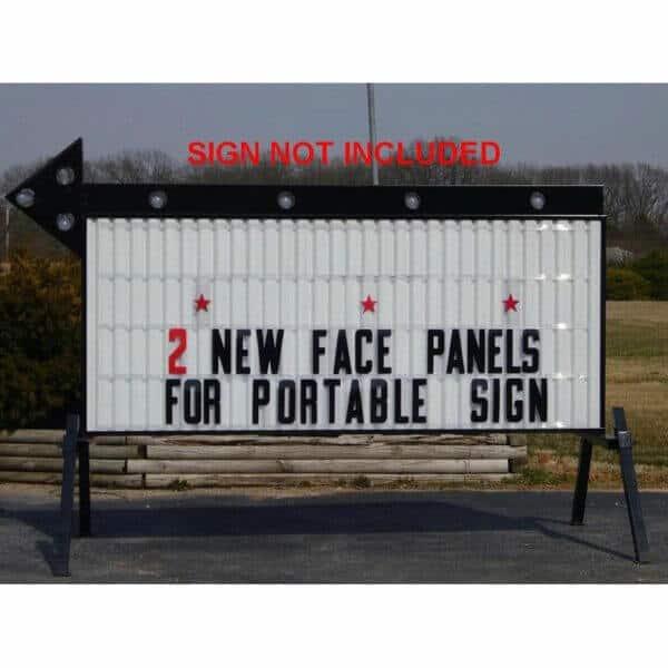 Lighted Display Sign Rental