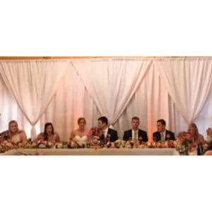 Wedding Head Table Ideas and Configurations