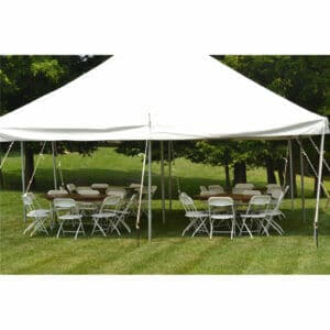 32 guest pole tent package