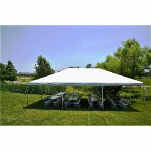 48 guest frame tent package