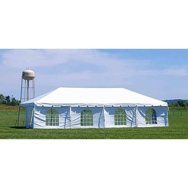 64 guest frame tent package