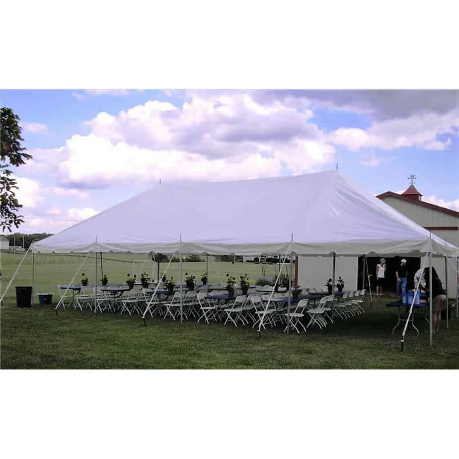 64 Guest Pole Tent Package Rentals Academy Rental Group
