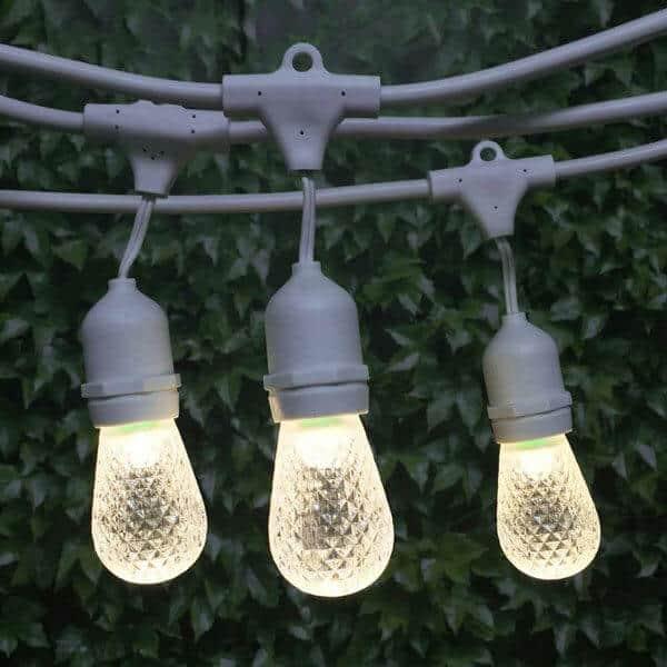 Bistro lighting rental
