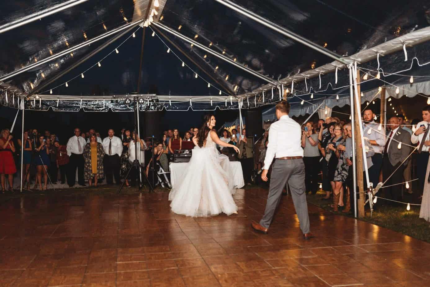 Dance Floor Rental Cincinnati
