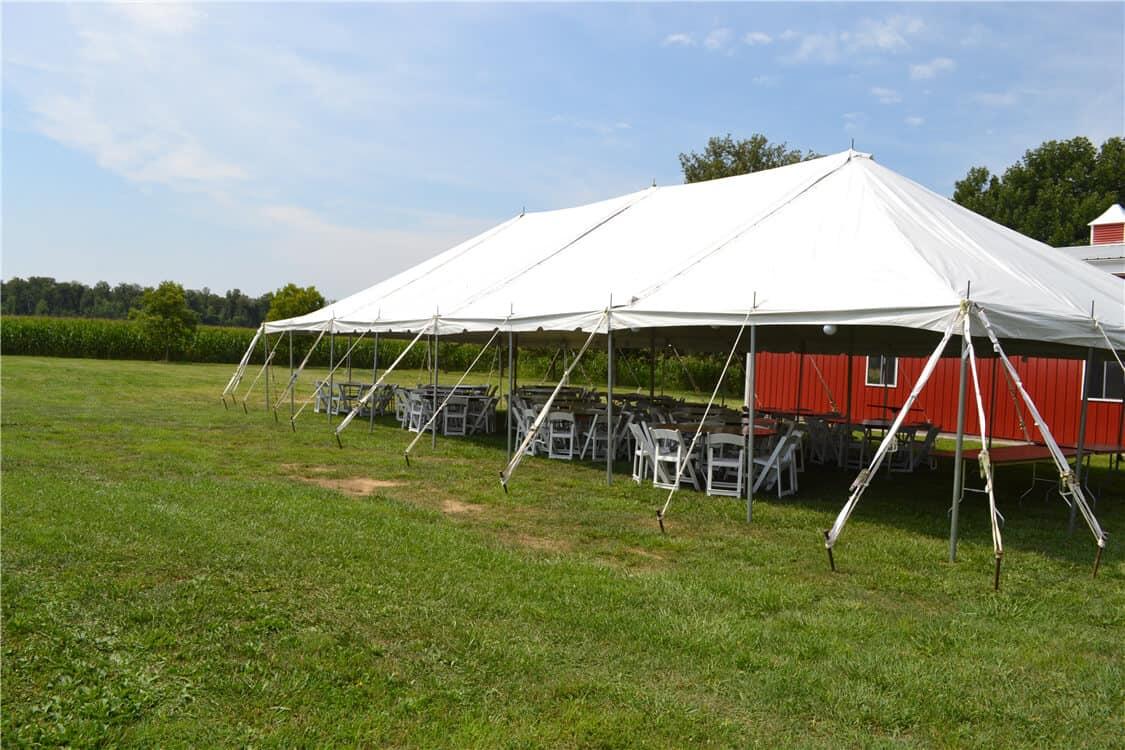 Pole Tent Cincinnati Ohio