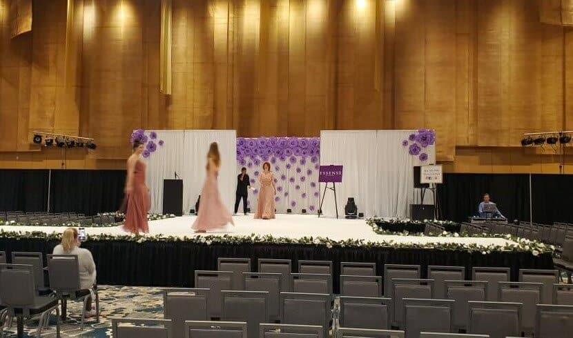 Stage Carpet Rental Cincinnati