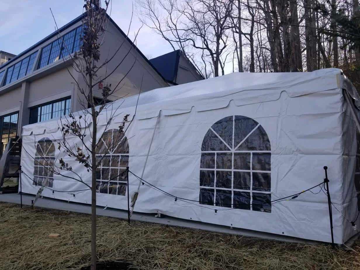 Heated Party Tent Rental Cincinnati