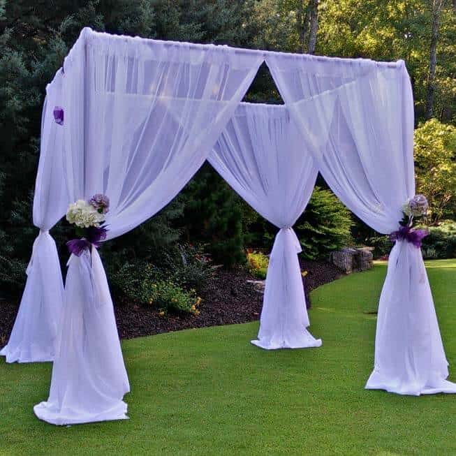 Wedding Canopy Pipe and Drape