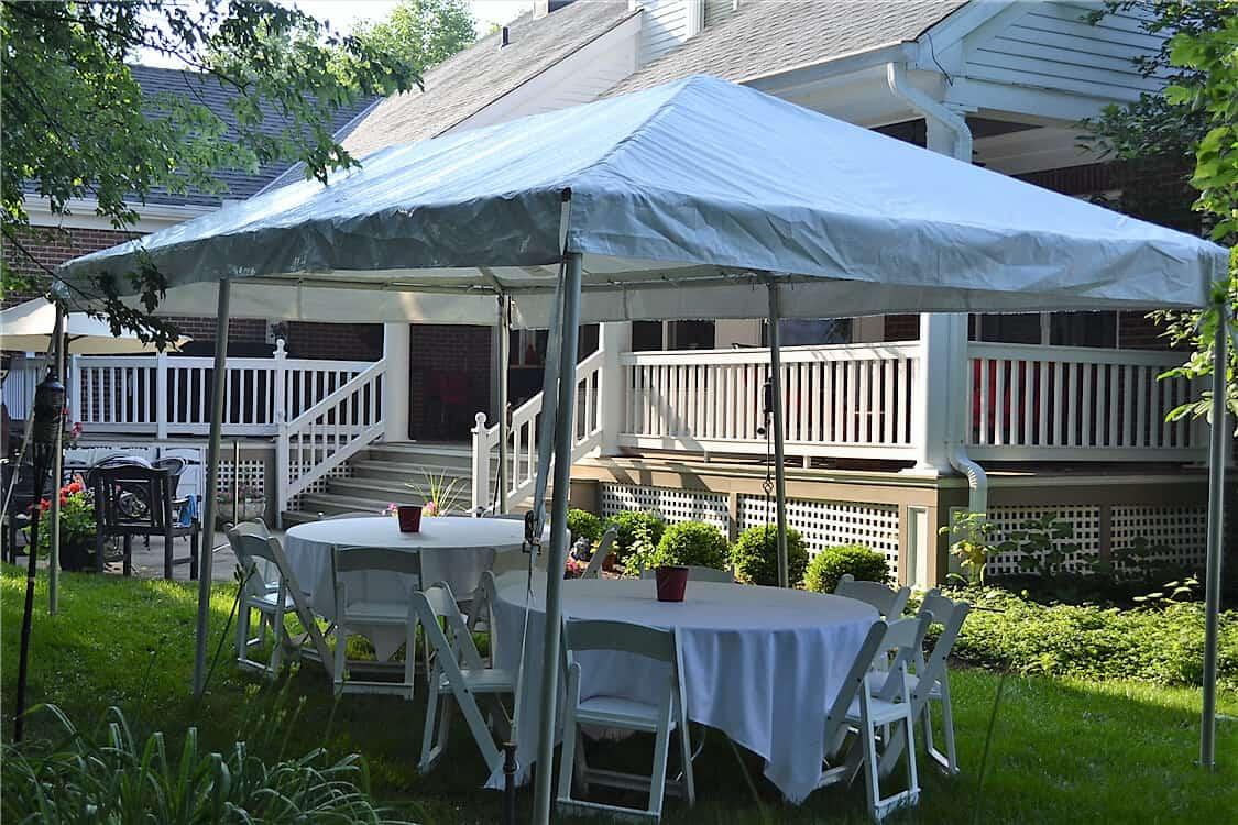 Backyard Tent Rental Cincinnati